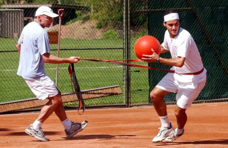 Federer Trainer