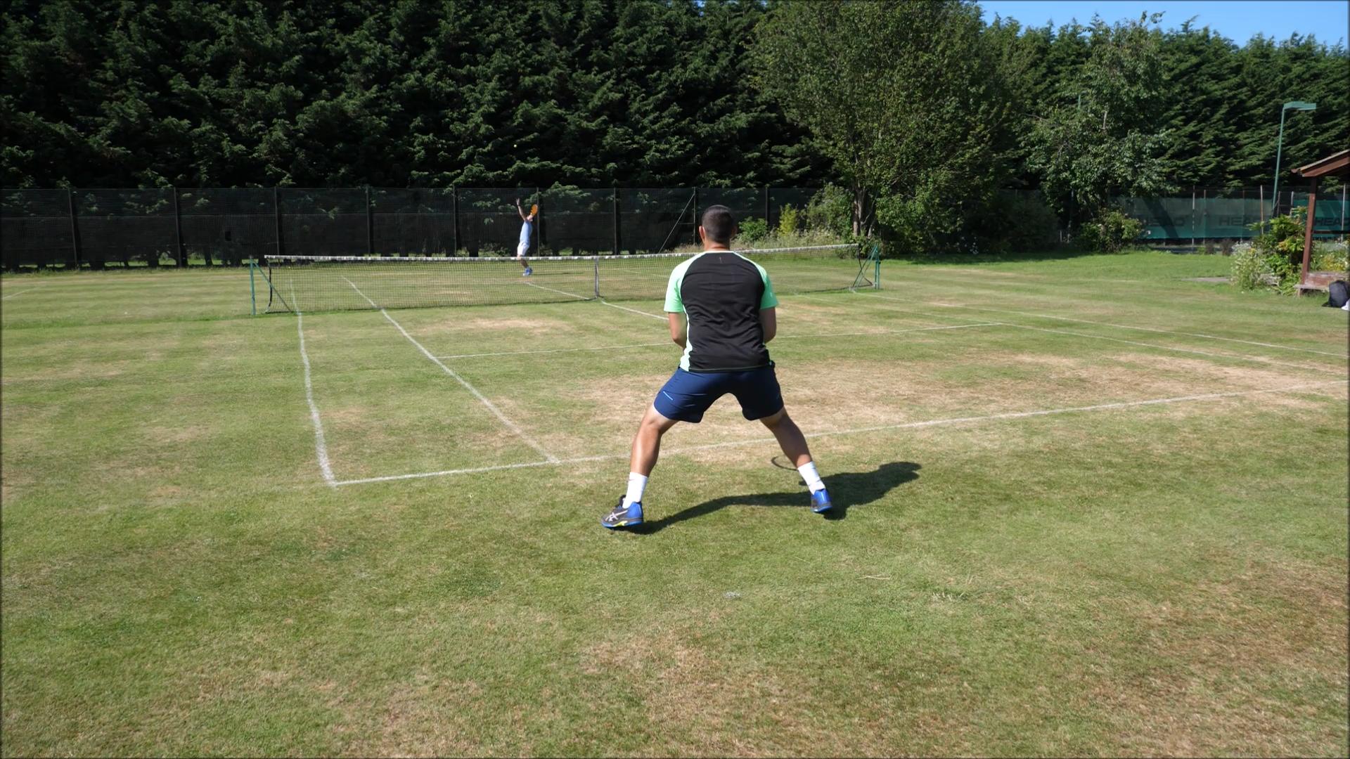 Singles tactics tennis SINGLES TENNIS